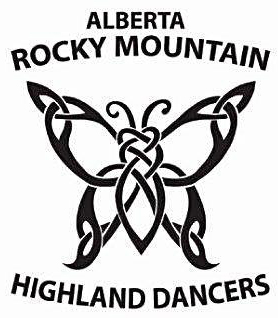 Alberta Rocky Mountain Highland Dance Logo